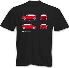 Hombre MINI COOPER Plano Camiseta John Cooper Works Roadster Coche