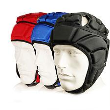 Men's Sports Soccer Goalkeeper Goalie Adjustable Helmet Headgear Protector
