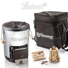 Petromax raketenofen rf33 Fusée réchaud cuisine avec BOIS CAMPING aspect sac