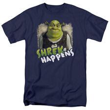 Shrek Movie Shrek Happens Licensed Adult T Shirt