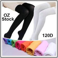 Womens Girls Long Socks Over Knee Thigh High Stockings Hosiery Tights Pantyhose