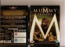 MUMMY TRILOGY DVD RARE STEEL BOOK TIN 3 FILMS