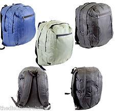 "NEW SCHOOL BACKPACKS BOOKBAGS 18""X12""X6"" NAVY BLUE BLACK GREEN CAMPING BAGS PACK"