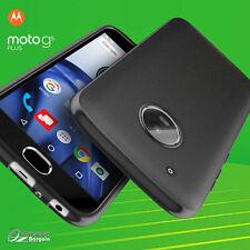 Black Matte Gel Case  TPU Jelly Soft Cover  For Motorola Moto G5 plus