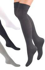 Overknee Strümpfe mit Baumwolle, Überknie Socken