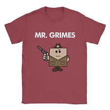 Mr Grimes Mens T-Shirt - Walking Dead Cool Funny Present Gift Glenn Rick