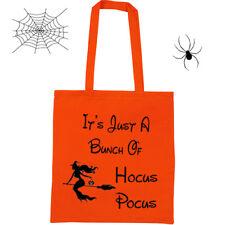Halloween Hocus Pocus Trick or Treat Bag - Personalised + many more designs.....