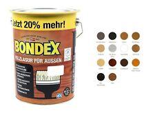 Bondex Holzlasur für Aussen 4,8L BEULE Holzschutzlasur Holz Lasur Farbwahl