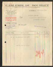"""LE BOURGET (93) CABLES ELECTRIQUES """"CABLERIE DU BOURGET"""" en 1944"""