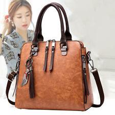 Women Faux Leather Shoulder Bags Handbag Tote Messenger Crossbody Satchel Purse