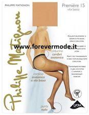 Collant donna Matignon velato opaco 15 den in lycra vita bassa  art Premiere VB