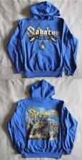 """Sabaton official """"Carolus Rex"""" Hooded sweatshirt Blue (M)"""
