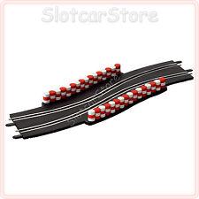 Carrera Go 61647 vessazioni (S-curva con strettoia) 1:43 anche Digital 143 rotaie