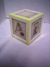 Child to Cherish  Alpha Block (t), Yellow, Block #1-A, B, C, D, New