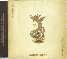 JOKER'S DAUGHTER - Worm's Head (UK 3 Trk DJ CD Single)