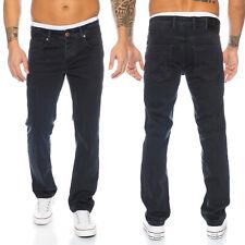 Designer Rock Creek Herren Jeans Hose Stretch-Jeans Schwarz Denim RC-2099 NEU