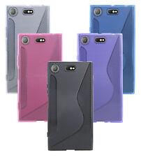 Sony Xperia xz1 Compact // funda de móvil, bumper, protección accesorios + lámina color libre elegibles