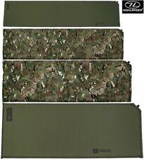Militaire Armée auto gonflant sleepng Camping Lit Pneumatique Rouleau Matt Camo Vert S-XL