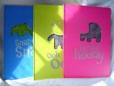 Nouveau A4 ruled livre cartonnée vide crocodile singe hippo journal calepin notebook