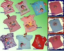Estupendo Dora the Explorer Camiseta Varios modelos Camisetas 86-116 NUEVO