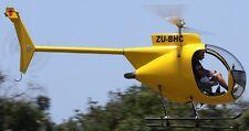 Mini 500 Bravo Revolution Mini500 Helicopter Kiln Wood Model Replica Small New