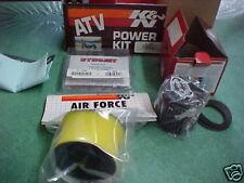 K&N POWER KIT 88-98 Suzuki LTF250 LTF 250 #8303 Jet Kit Filter PreCharger Etc