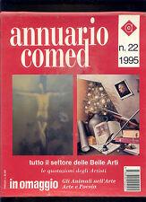 ANNUARIO COMED 1995 GUIDA RAGIONATA DELLE BELLE ARTI + QUOTAZIONE DEGLI ARTISTI