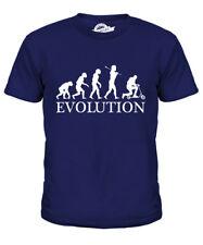 SCOOTER EVOLUTION Bambini T-Shirt Tee Top Regalo Rampa per adulti