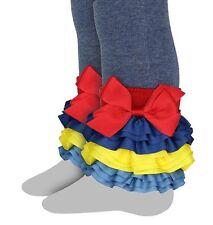 Celegrity - Girls Footless Tight, Leggings Interchangeable Ruffles captain Cool