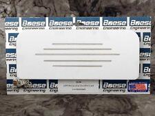 37 38 Chevy Car Billet Aluminum Glove Box Insert