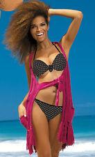 Extravagant & Sexy Push-Up Bikini She Gr.34-40 Cup B-D in schwarz  (Mod.Salma)
