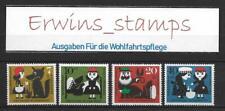 Bund Für die Wohlfahrt aus Jahrgang 1960 postfrisch Mi-Nr: 340 - 343  AUSWAHL