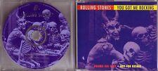 "ROLLING STONES ""You Got Me Rocking"" 2 Track PROMO CD RAR"