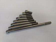 Titanium M12 x 1.25 Taper Head Bolts Cone 1.25mm Fine Pitch