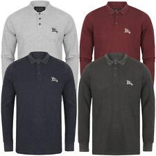 Tokyo Laundry Men's Cosenza Long Sleeve Polo Shirt Top Size S M L XL XXL