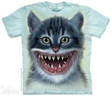 Cat Shark Shirt ~ Kitten, Mountain Brand, shark teeth, In Stock, Small - 5X