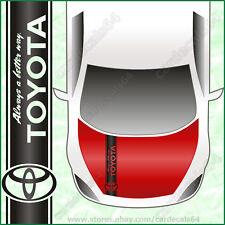 Toyota Car Hood Decal Sticker Banner Vinyl Logo Emblem (1200mm X 150mm) I