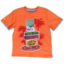 boboli Niño Camiseta T-Shirt Naranja Talla 110 116 128 140 152 164