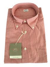 FLY 3 Camisa Fantasía De rayas blanco/rojo MADE IN ITALY 100 % algodón