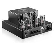 MP3 HiFi 2.0 Home Amplifier Audio Bluetooth Vacuum Tube Integrated Input Power