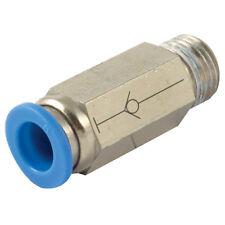 """SPC12-04 Neumáticos PUSH FIT 1/2"""" BSPT x 12 mm Macho x Válvula de cierre de Tubo auto sellado"""
