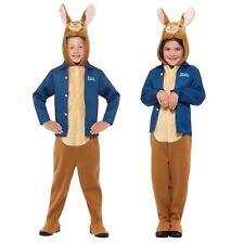 Kids Girls Boys Official Peter Rabbit Movie Book Week Ears Fancy Dress Costume