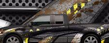Body Armour 2 go kart race car vinyl graphic decal half wrap