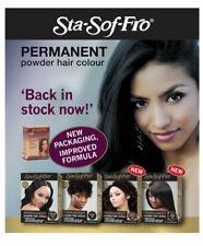Sta-Sof-Fro permanente Polvere Tinta per capelli colore