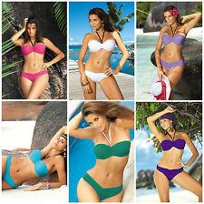 MARKO Nicole Luxury Push Up Padded Bikini Top and Matching Bikini Brief Set