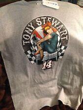 TONY STEWART NASCAR SHIRT WITH LADY