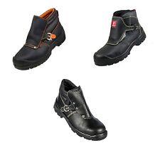 New! Welders Boots Urgent Ppo S1 S3 Src Shoe Safety Shoes Black