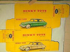 REFABRICATION BOITE CITROEN DS 19 DINKY TOYS 1957 TYPE1