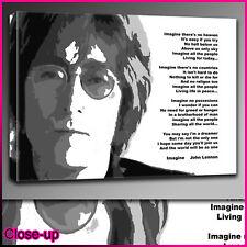 mu035 John Lennon Imagine canvas print A2 16x24 Art