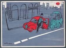 KOLLMANN RENZO - AQUILA-  CAMPAGNA EDUCAZIONE STRADALE TRAFFICO 01 Cartolina